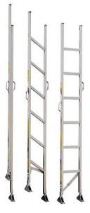 acolite folding aluminum closet ladder